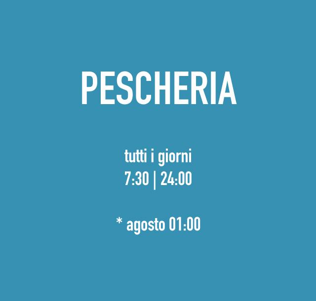 Pescheria aperta tutti i giorni